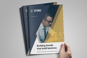 Modern Business A4 Brochure