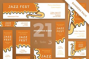 Banners Pack | Jazz Festival