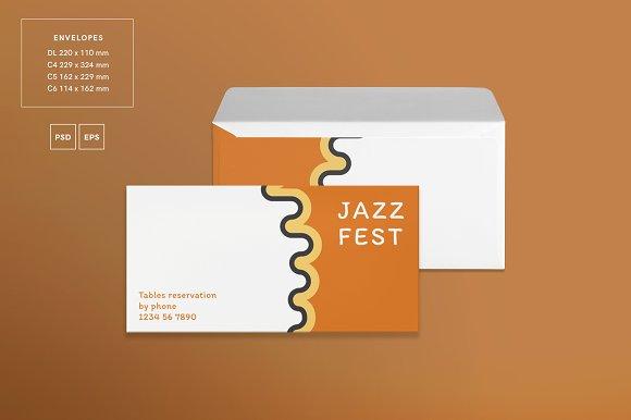 Branding Pack   Jazz Festival in Branding Mockups - product preview 3