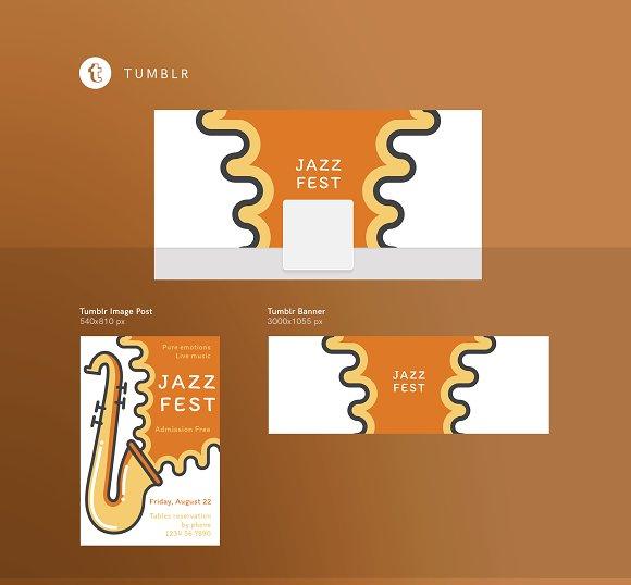 Branding Pack   Jazz Festival in Branding Mockups - product preview 11