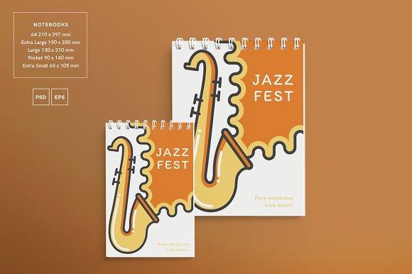 Branding Pack   Jazz Festival in Branding Mockups - product preview 13