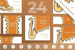 Social Media Pack   Jazz Festival