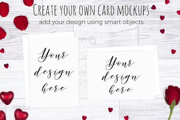 Valentines Scene Creator - Top View in Scene Creator Mockups - product preview 3