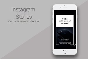 Tech Products Instagram Stories