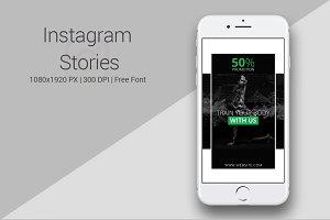 Gym Instagram Stories