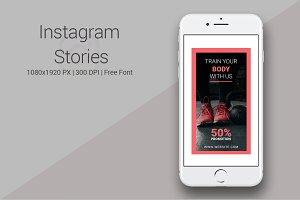 Gym Instagram Stories #064