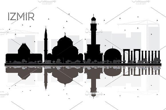 Izmir Turkey City Skyline