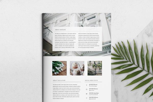 3 Page Press Kit Template