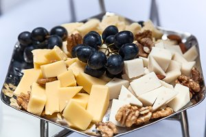 cheese plate tasty appetizer