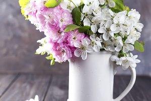 Festive flower composition