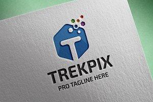 Letter T (Trekpix) Logo