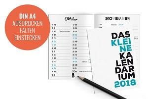 Kalendarium 2018 - Taschenkalender