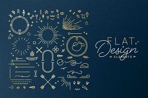 Flat Design Elements