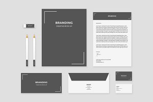 Brand Identity Set - Corner Angle