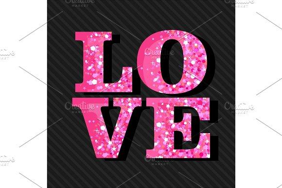 Love Shine Text