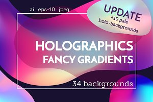Holographics & fancy gradients set