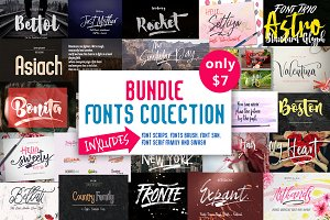 BUNDLE (Fonts Colection)