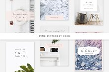 Pink Pinterest Pack by  in Pinterest