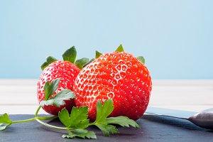 Strawberry and banana smothie