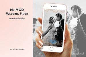 Nu-Mod Wedding Geofilter