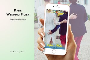 Kylie Wedding Geofilter