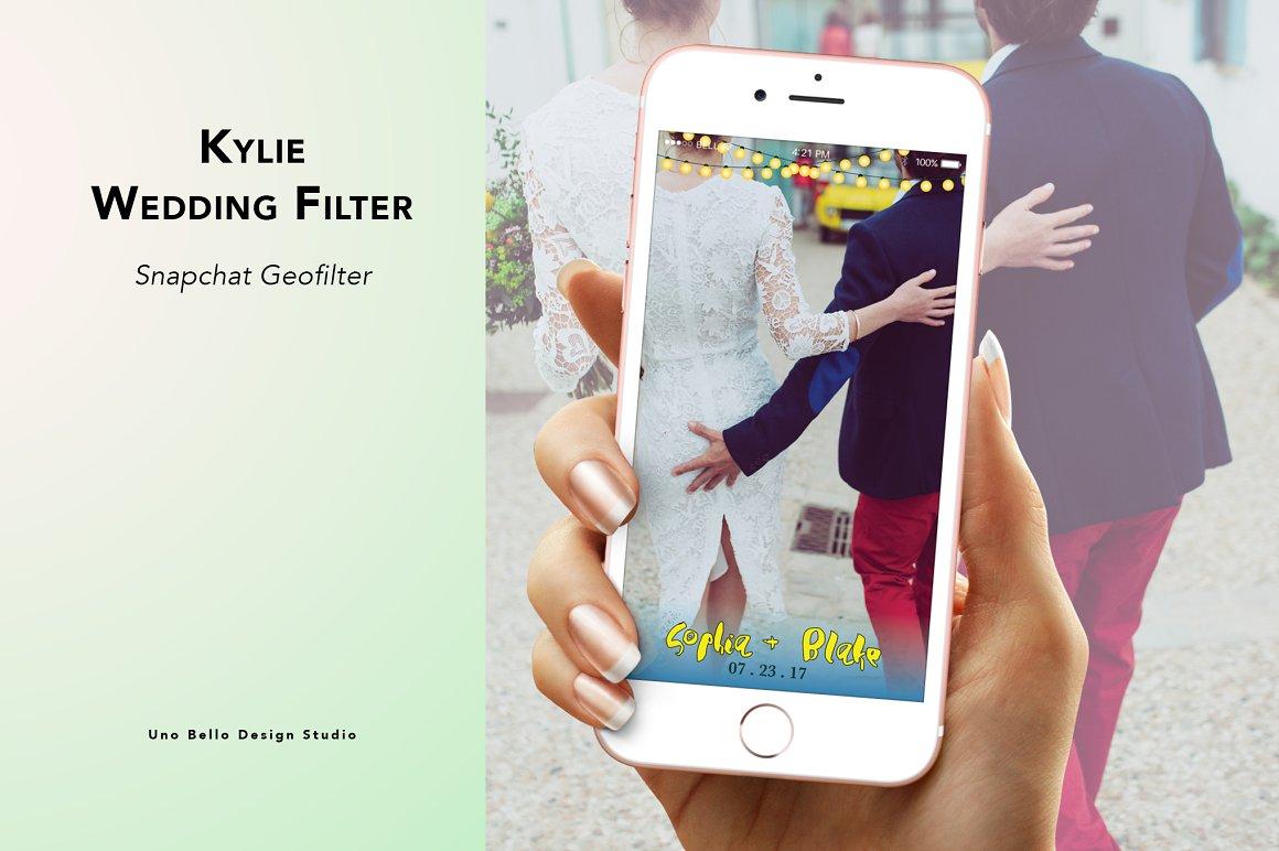 Kylie Wedding Geofilter