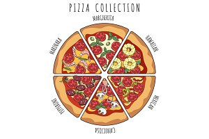 Pizza slice collection