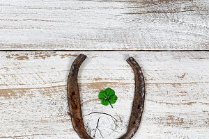 Lucky Horseshoe for St Patrick Day