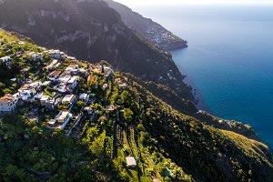 Sunrise on the Amalfi Coast