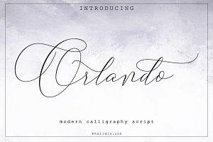 Orlando Script Font