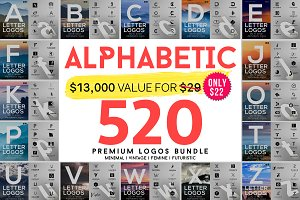 520 A to Z Logos Bundle
