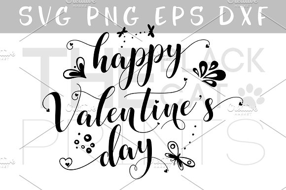Happy Valentine's day SVG DXF PNG