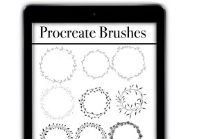 Procreate Brushes, Procreate Stamp