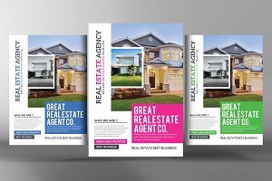 Real Estate Flyer Psd Template