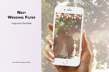 Nest Wedding Geofilter by  in Snapchat