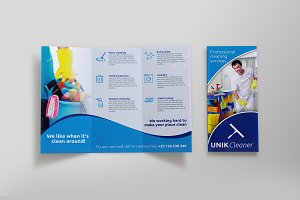 Cleaning Tri-Fold Brochure - SK