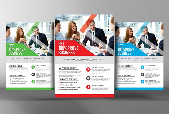 accounting firm flyer template flyer templates creative market