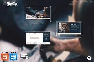 Craftsman - One/Multi HTML template
