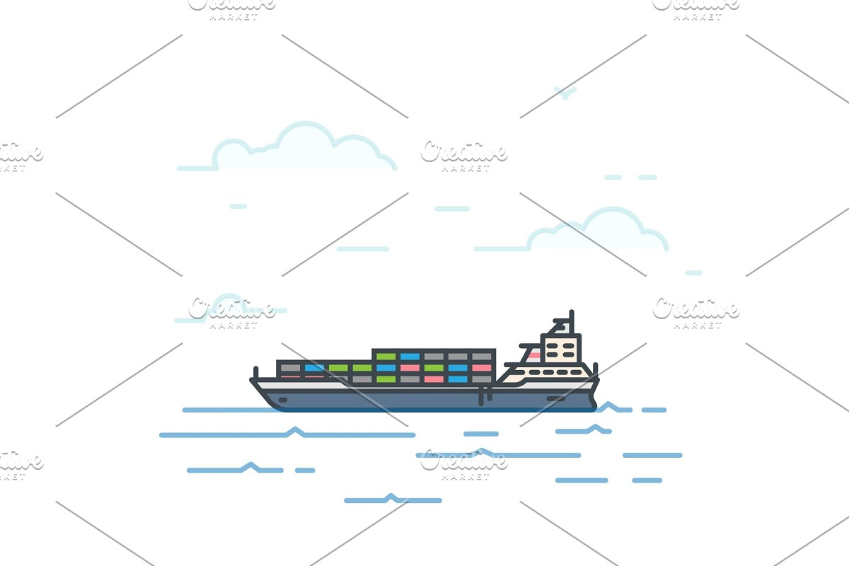 Barge boat