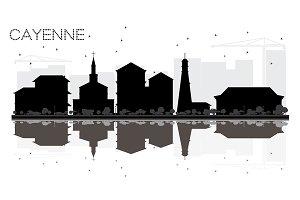 Cayenne French Guiana City skyline