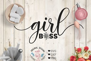 Girl Boss Cutting File
