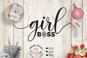 Girl Boss Cutting File
