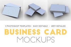 Professional Business Card Mockups