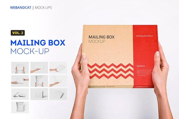 Download Mailing Box Mock-up 2