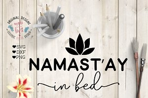 Namastay in Bed Cutting File