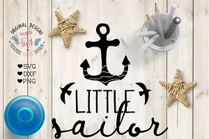 Little sailor Cutting File
