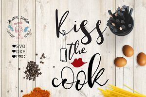 Kiss the Cook Cutting File