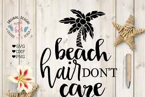 Beach Hair Don't Care Cutting File