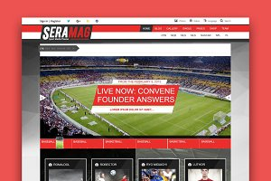 SeraMag - Magazine WordPress Theme