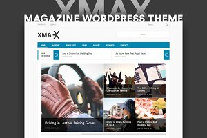 Xmax Magazine WordPress Theme